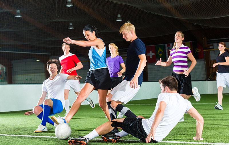 competiciones futbol indoor en valladolid